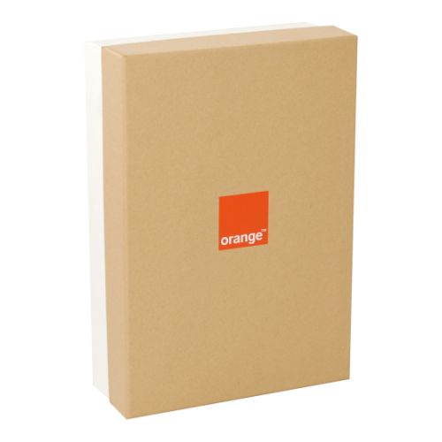 Cutie Rigid Box 34x23.5x9 personalizata Orange